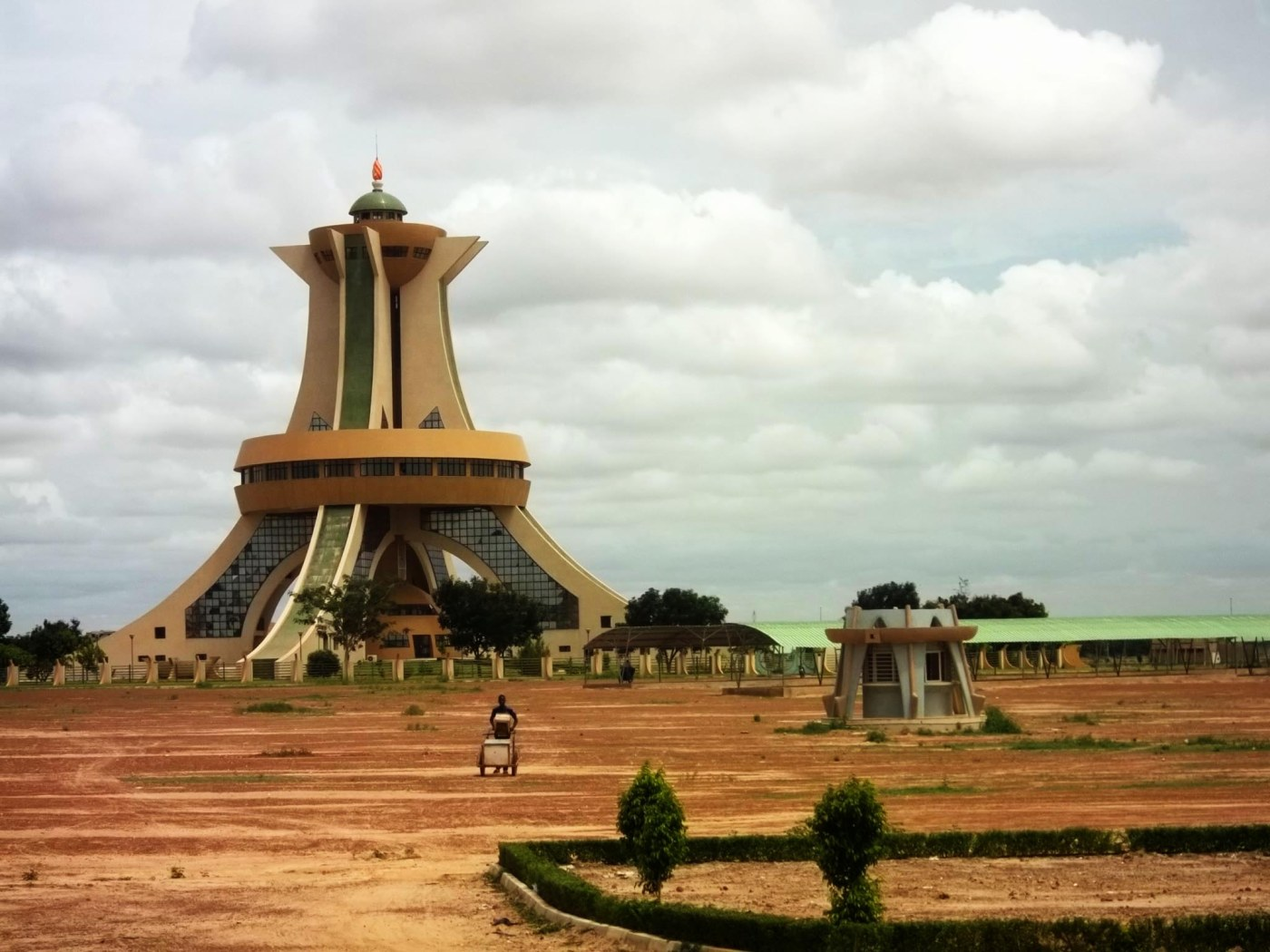 Monument of the Martyrs  at the roundabout at Ouaga2000 - at the Boulavard de Kadaffi
