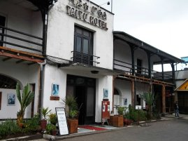 Taitu Hotel - the oldest wooden hotel