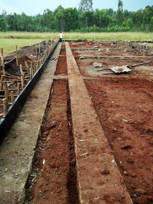 Yigralem - foundation done