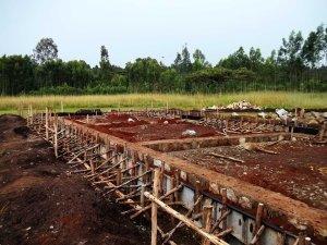 Yigralem - foundation done, formwork ready