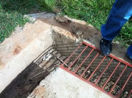Mesincho school - drainage system