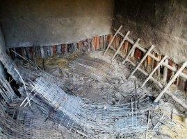 alaba experimental school - new block - preparation for floor