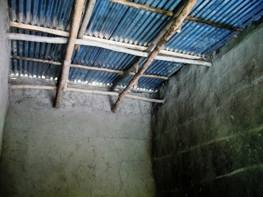 alaba experimental school - new block - trusses