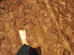 muddy massage on the way to Bursa
