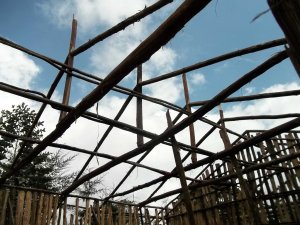 bursa school - new block construction - trusses