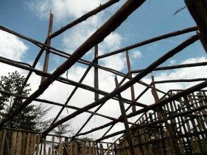 bursa school - new block construction - trusses