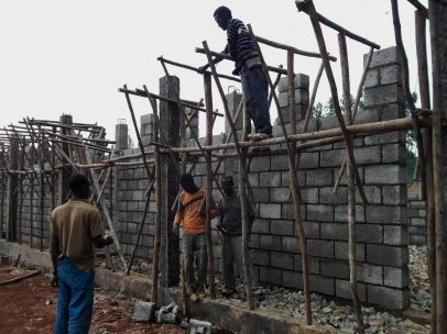 preparation for beam frame!