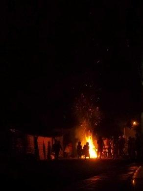 Hawassa - Meskel Eve - a bonfire