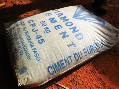cement from Ouagadougou