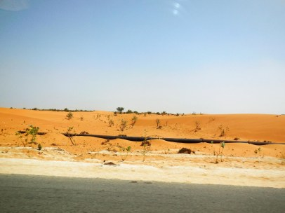 eastern outskirts of Nouakchott