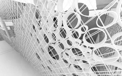 the mesh and pipes system