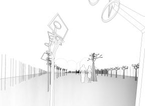 takara - 3D View - arbre