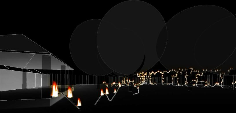 takara - 3D View - fers de paillote