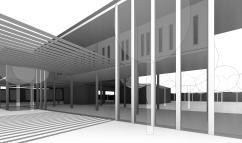 ed - 3D View - salles - aire de repos