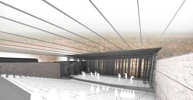 ed - 3D View - theatre interieur