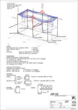00jmphb - Sheet - A107 - Dimensions