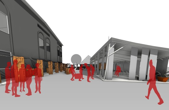 cdc ddc - 3D View - piazza-vizu