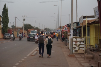Goudron marché de Tanghin