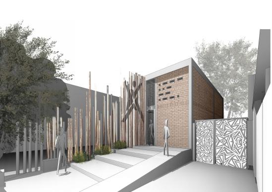 00jumpHUB - 3D View - ofis facade - vizu2019jul