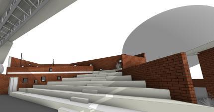 p09 - 3D View - p09 gradins up
